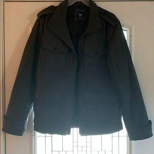 Men's wool utility jacket